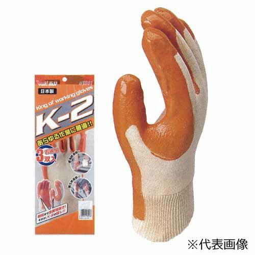 【送料無料】作業用手袋 1801 K-2 3P×40束