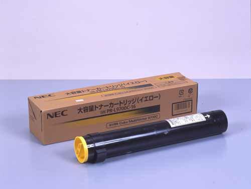 純正NEC PR-L9700C-16イエロー大容量 【注意!】返品商品です。よくご確認の上、お申し込み下さい。よい