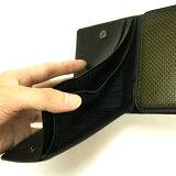 お札入れポケット|カーボンファイバー製メンズマルチプルウォレット・多機能財布【CARFIBE】