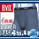 【ボクサーパンツ】 BVD ボクサーパンツ 4枚組 / ボク...