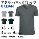 【G】Vネック Tシャツ 無地 【GIL...