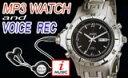 腕時計型USBフラッシュメモリ/MP3プレイヤー/ボイスレコーダー機能搭載【iM-1803B】1G