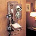 高級感あふれるアンティーク電話機 Wood Wall Telephone 【HT-09A】インテリアにも最適!