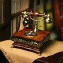 高級感あふれるアンティーク電話機 Wood Desk Telephone【HT-39A】インテリアにも最適!