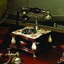 高級感あふれるアンティーク電話機 Wood Desk Telephone【HT-40C】インテリアにも最適!