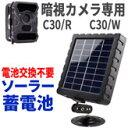 ソーラーパネルで電池交換不要!トレイルカメラ用電源