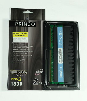 Limited Edition! TURBO series TB1800CL8D3-2GB (CL8 2 GB DDR3-1800)