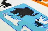 【KOH-I-NOOR】コヒノール アニマルテンプレート Sサイズ【事務用品/オフィス 文房具/デザイン文具/輸入文具/ステーショナリー/アニマル 動物/KOHINOOR/コヒノー