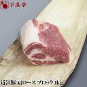 近江豚肩ロースブロック 1kg