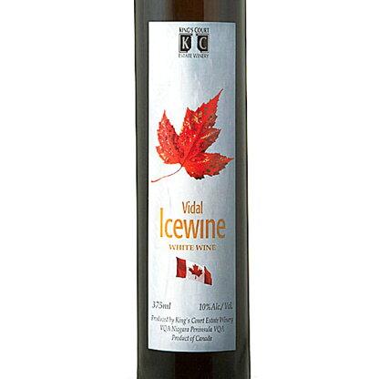 【カナダおみやげがポイント10倍&送料無料!】キングスコートヴィダルアイスワイン3本セット(カナダのワイン)