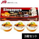 【シンガポール お土産】シンガポール マンゴープリン3箱セット|プリン・ゼリー 東南アジア 食品 シンガポール土産 おみやげ