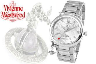 Vivienne Westwood Vivien waist Wood watch 'Orb' VV006SL Lady's