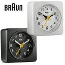 BRAUN ブラウン 置き時計 ウォールクロック BNC019 目覚まし時計