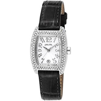 Folli Follie follie watch S922ZI silver / black women's