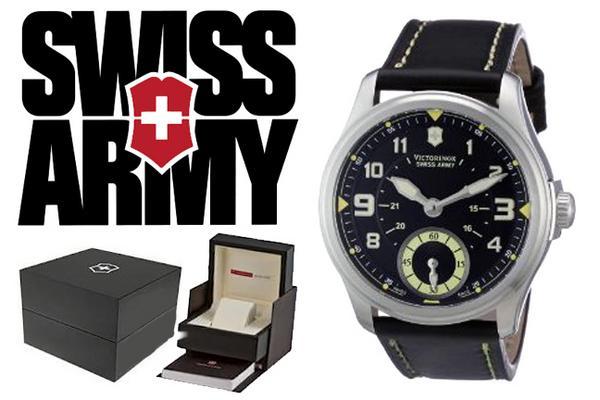 VICTORINOX Victorinox SWISS ARMY watch 241377 black mens