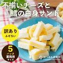 【5パックセット】 訳あり 不揃いチーズと鱈の白身サンド 270g (メール便不可)