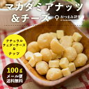 【お試し送料無料】マカダミアナッツ&チーズ 100g 【メー...
