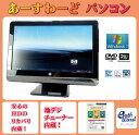 HP デスクトップパソコン Windows7 中古パソコン デスクトップ 一体型 本体 Kingsoft Office付き Pentium DVD 地デジ/BS/CS 4GB/500GB 200-5320jp ブラック 送料無料 【中古】