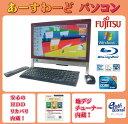 富士通 デスクトップパソコン Windows7 中古パソコン デスクトップ 一体型 本体 Kingsoft Office付き Core i7 ブルーレイ 地デジ/BS/CS…