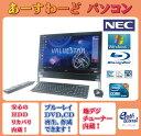 NEC デスクトップパソコン Windows7 中古パソコン デスクトップ 一体型 本体 Kingsoft Office付き Core i7 ブルーレイ 地デジ/BS/CS 8G…