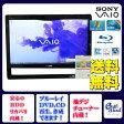 液晶一体型 パソコン SONY VPCJ128FJ ブラック Windows 7 Core i5 メモリ4GB HDD1TB ブルーレイ 地デジ/BS/CS Kingsoft Office付 送料無料 【中古】