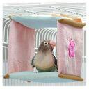 カラーリニューアルしました。[三晃商会]小鳥用布製ベッド小鳥の四角ベッド