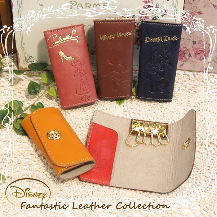 ディズニー キーケース キーホルダー レザー 革 ファッション雑貨 鍵 車のカギ ミッキー…...:e-piglet:10002299