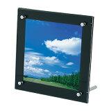フォトフレーム PF-200 面板サイズ:200mm角 有効寸法:150mm角 正方形 (黒マット/白パール/赤マット)