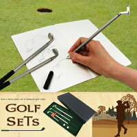 GOLFSETSゴルフセットボールペン