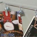 DULTON ダルトン 『マグネットメモバー Magnetic memo bar』 雑貨 文房具 事務用品 メモクリップ マグネットフック メッセージ 写真立て...