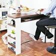 『 カウンターテーブル 』テーブル バーテーブル ハイテーブル 作業台 作業テーブル バーカウンターテーブル おしゃれ 可愛い かわいい 北欧 ナチュラル 木製調 対面式 壁面 キッチン リビング ダイニング コンセント付き コンセントスライドカバー 収納付き 棚付き 可動棚