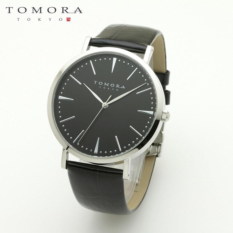 【a送料無料・新品・正規品】TOMORA TOKYO t-1601-sbkbk 日本製クォーツ腕時計 T-1601 SBKBK トモラ[TOMORA TOKYO] ( TOMORA トモラ 東京 日本製腕時計 )