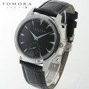 【a送料無料・新品・正規品】TOMORA TOKYO t-1602-ssbk 日本製クォーツ スモールセコンド腕時計 T-1602 SSBK