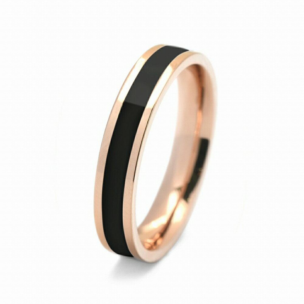 指輪 サージカルステンレス センターブラックライ...の商品画像