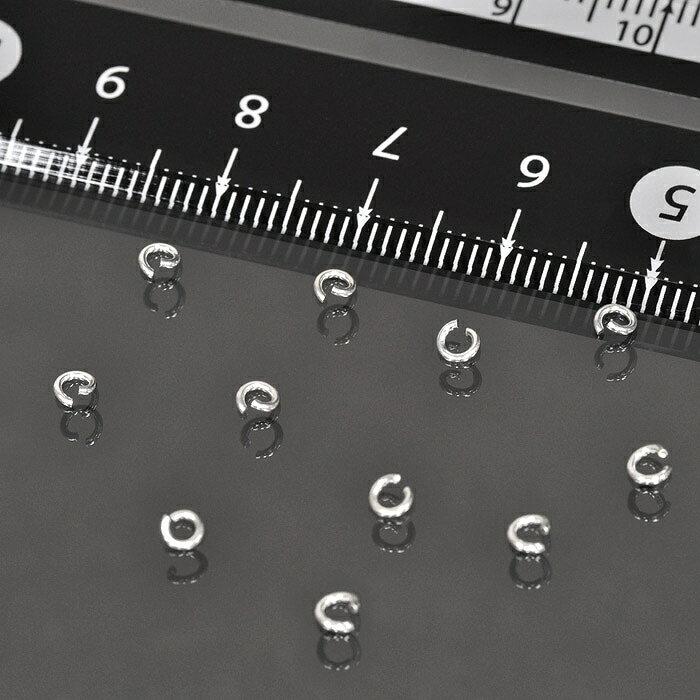 【1個売り】【シルバー925】丸カン(線径0.6mm×直径2.8mm)(マルカン/丸環)「飾り/パーツ/部品/金具/シルバーアクセサリー/Silver/銀製品/クラフト」