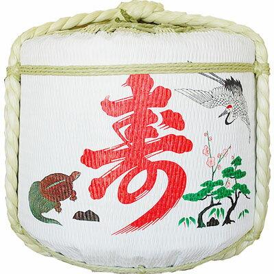 飾り樽二段重ね【寿鶴亀・末廣宝】(4斗樽)Ja...の紹介画像3