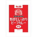 エスビー食品 野菜もしっかりビーフカレー中辛3kg×4袋【業務用/大型/大容量/SB/S&B/