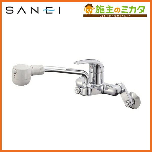 三栄水栓 【K270M-13】 シングル切替シャワー混合栓 混合水栓 ★