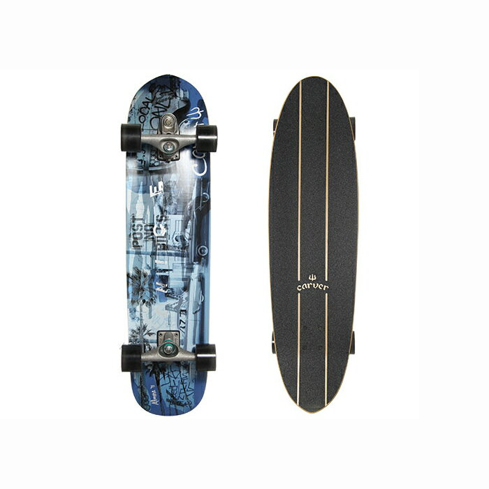 """カーバー ベニス ブルー Carver スケートボード 36""""  Venice Blue C7トラックコンプリート サーフィン練習 10P01Oct16"""