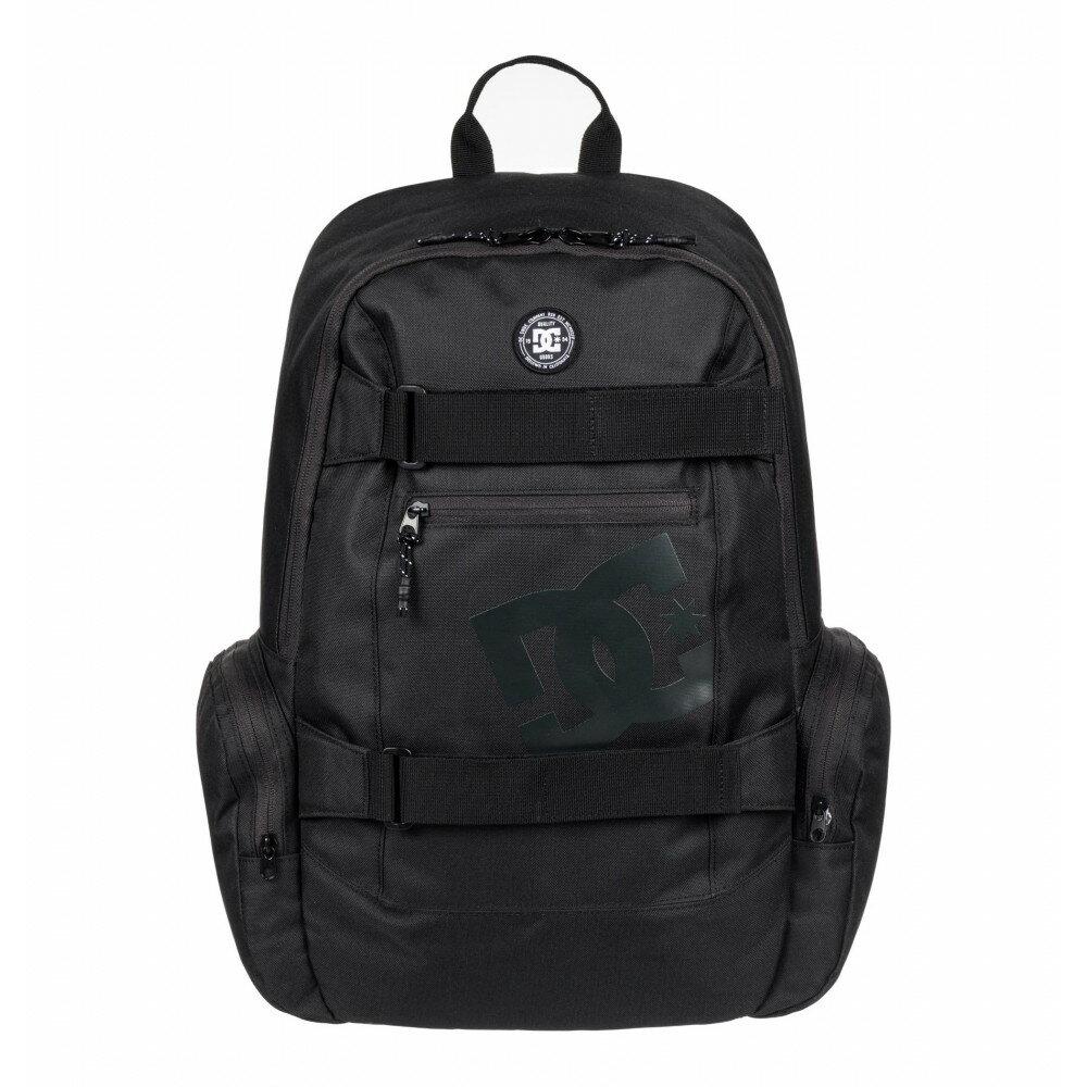 【大感謝祭期間中最大ポイント28倍】DC SHOES バックパックTHE BREED ブラック 26L Backpack EDYBP03135 リュック かばん スケートパック スケボー バックパック