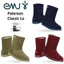 エミュー emu ムートン ブーツ パターソン クラシックロー 完全 防水 Paterson Classic Lo 11590