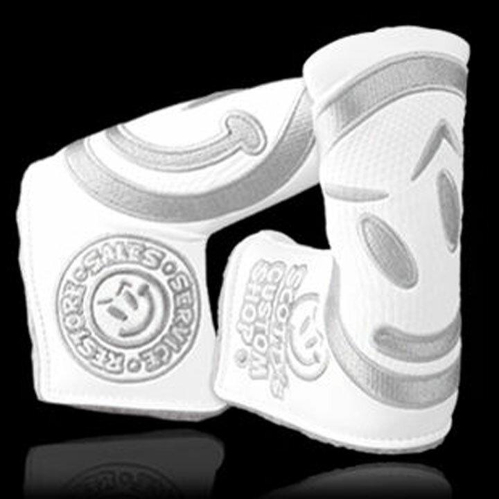 スコッティキャメロン カスタムショップヘッドカバー 「インダストリアルゴーゲッター」Scotty Cameron Golf 2013 Industrial Go Getter Headcover White 10P01Oct16