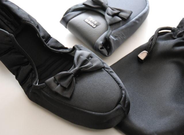 サテンリボン 携帯スリッパ【1足でも速達便送料無料!】 【大人気商品!】...:e-slipper:10000042