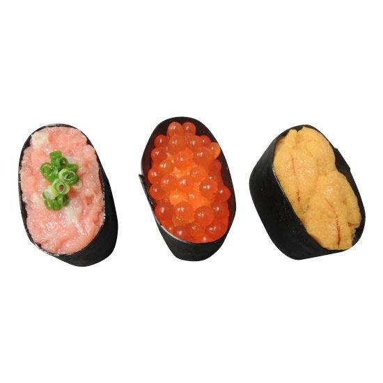 【日本職人が作る 食品サンプル寿司マグネット 軍艦三昧 IP-154】※発送目安:2週間 fs04gm、【RCP】