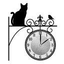 Wall Clock Sticker(ウォールクロックステッカー) まちねこ WC-MA