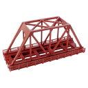 単線トラス鉄橋 (短)赤 R088