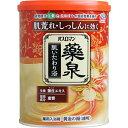 バスロマン 薬泉 肌いたわり浴 薬用入浴剤 黄金の湯(透明) 750g [キャンセル・変更・返品不可]