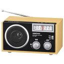 木製ラジオ (RAD-T556Z) [キャンセル・変更・返品不可]