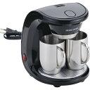 SCS-30 HOME SWAN コーヒーメーカー2カップ ステンレスマグ [キャンセル・変更・返品不可]