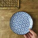 【和ごころ 16cm取り皿 組亀甲 日本の伝統模様】【楽ギフ_包装】